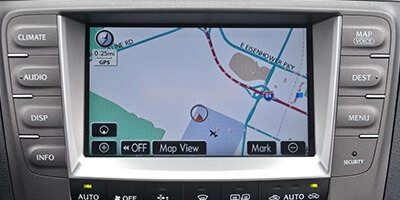 Broken Lexus Navigation Unit