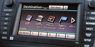 Prius navigation unit repair