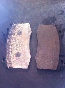 The difference between good brakes and brakes that need replacement.