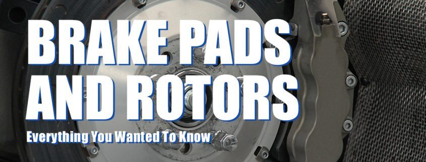 Feature image for brake pads and rotors article