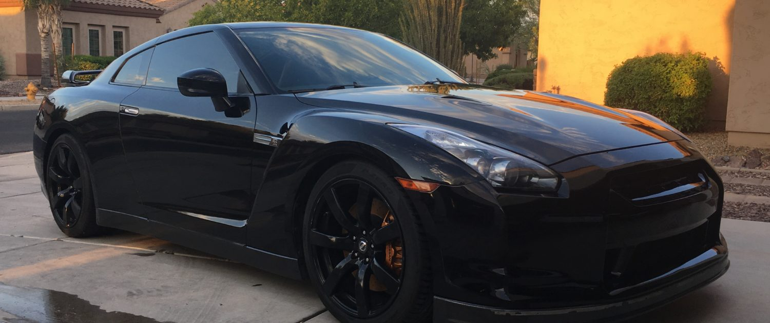 2010 Nissan GTR after assembly Highline Car Care Mesa AZ