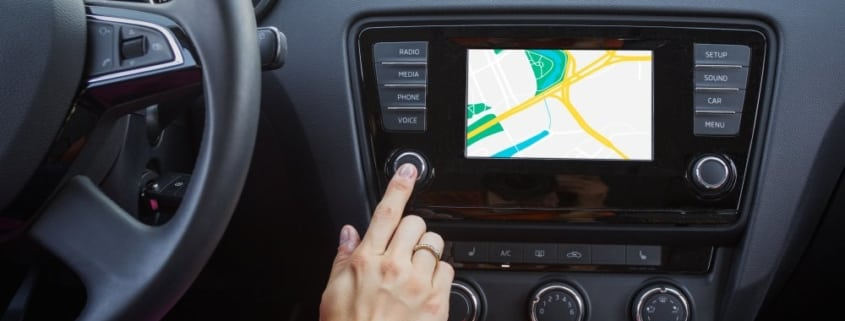 Lexus touch screen navigation screen repair in Mesa, AZ